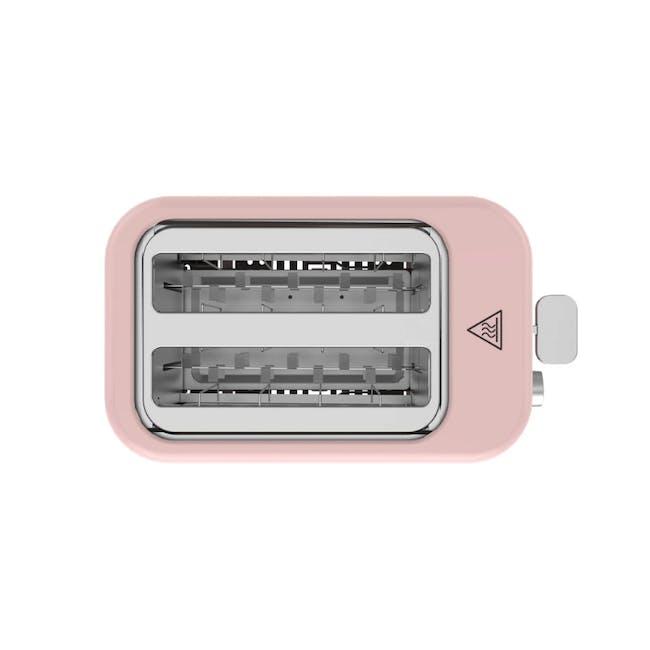 Odette Pastel 2-Slice Bread Toaster - Pink - 1