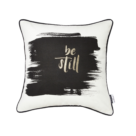 Stitches and Tweed - Be Still Cushion Cover