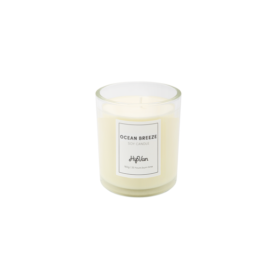 Wellness Fragrances - EVERYDAY Soy Candle - Ocean Breeze (Recharge)