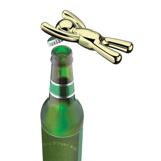 Umbra - Drinking Buddy Bottle Opener - Brass
