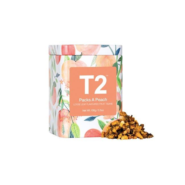 T2 Icon Tins - Packs a Peach - 0