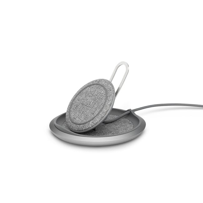 Moshi Lounge Q Wireless Charging Stand - 0