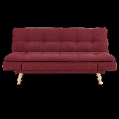 Kara Sofa Bed - Crimson - Image 1