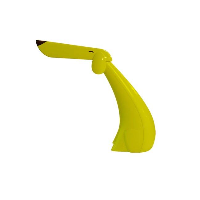 SOUNDTEOH 8W LED Dog Table Lamp - Yellow - 0