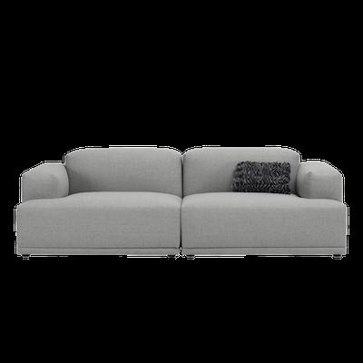 Flex 3 Seater Sofa - Squirrel Grey - Image 1