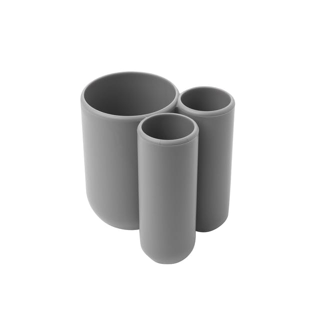 Touch Toothbrush Holder - Grey - 3