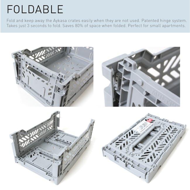 Aykasa Foldable Midibox - Grey - 4