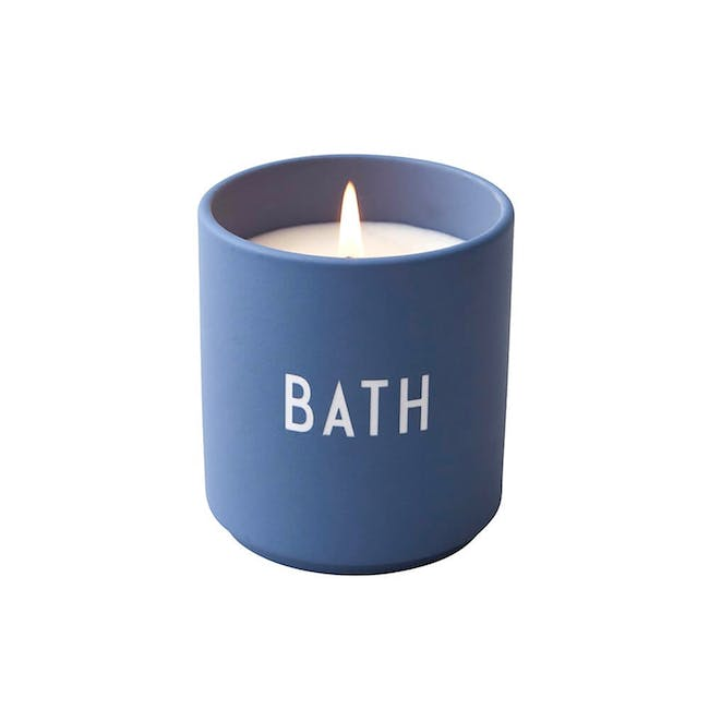 Large Scented Candle - Blue (Bath) - 0