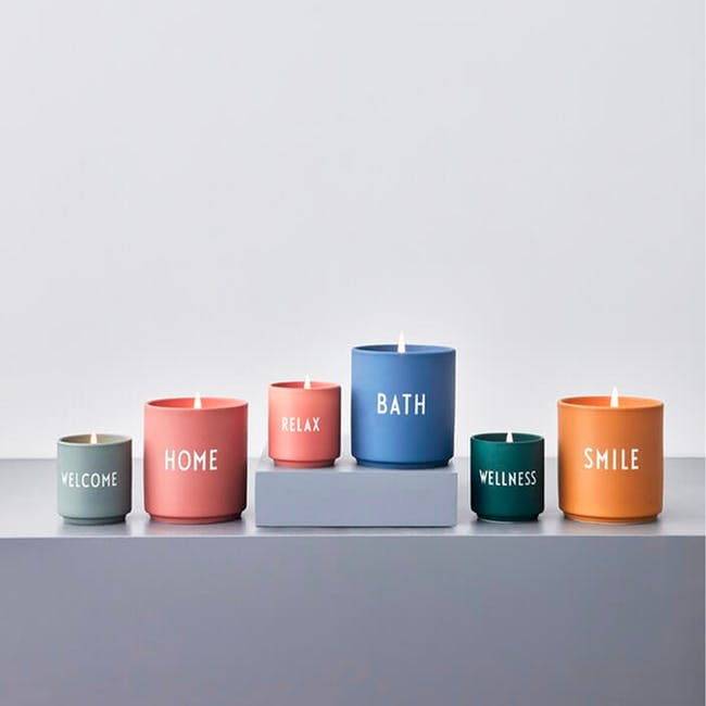 Large Scented Candle - Blue (Bath) - 2