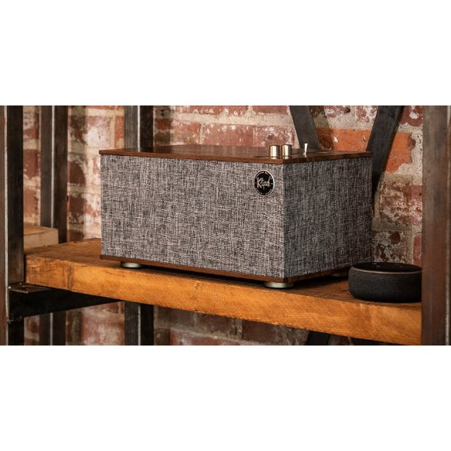 Klipsch The Three II Heritage Bluetooth Speaker - Walnut - 1