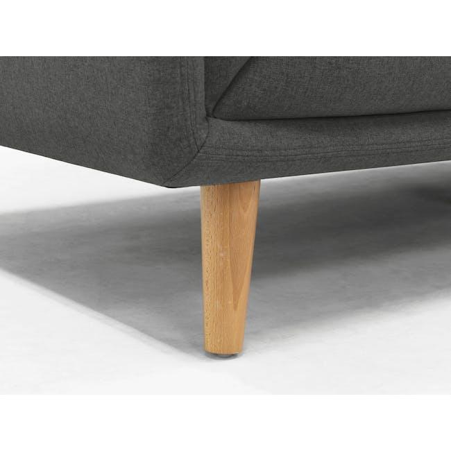 Audrey 3 Seater Sofa - Granite Grey - 7