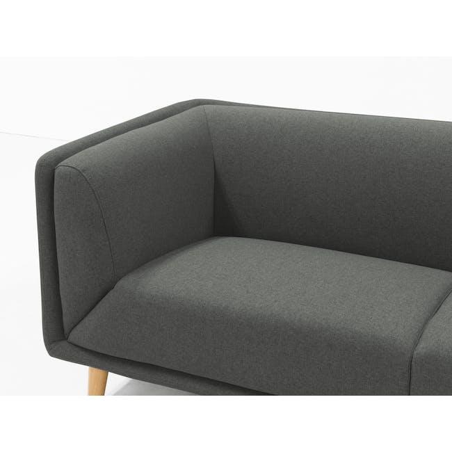 Audrey 3 Seater Sofa - Granite Grey - 4