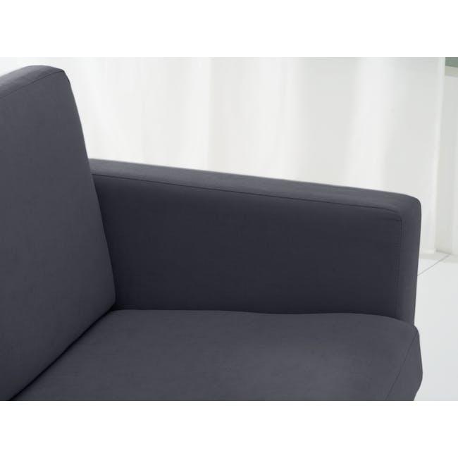 Helen 2 Seater Sofa with Helen Armchair - Hailstorm - 1