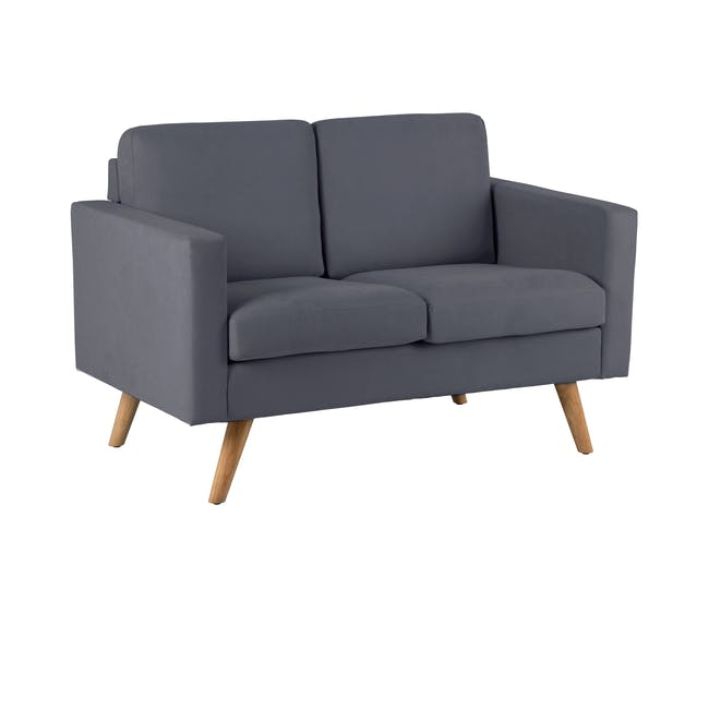 Helen 3 Seater Sofa with Helen 2 Seater Sofa - Hailstorm - 7