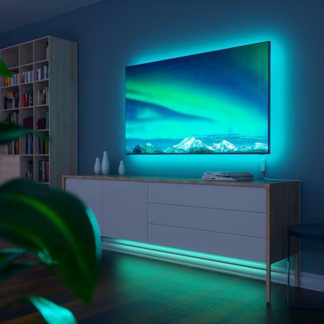 Nanoleaf Essentials Smart LED Colour & White Ambiance Light Strip Starter Kit (2m) -  Thread & Bluetooth-enabled - 1