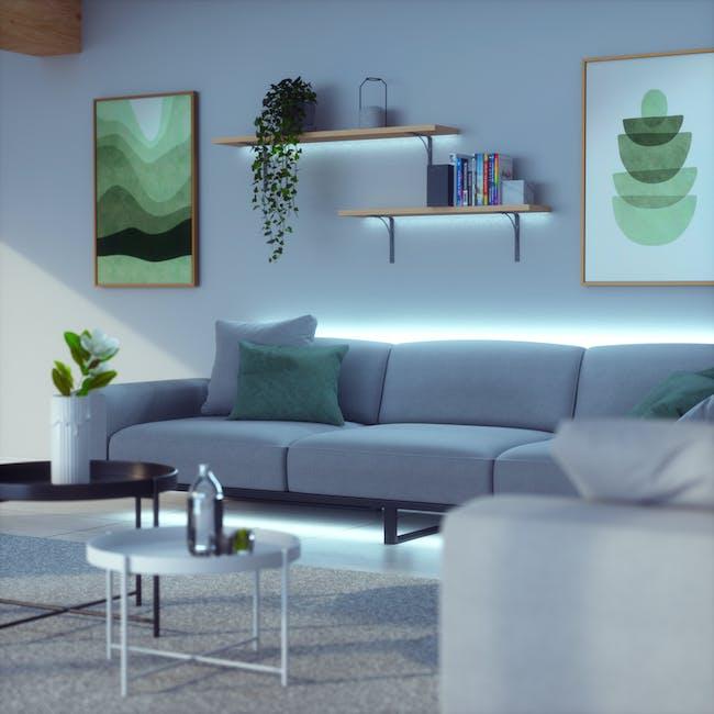 Nanoleaf Essentials Smart LED Colour & White Ambiance Light Strip Starter Kit (2m) -  Thread & Bluetooth-enabled - 2