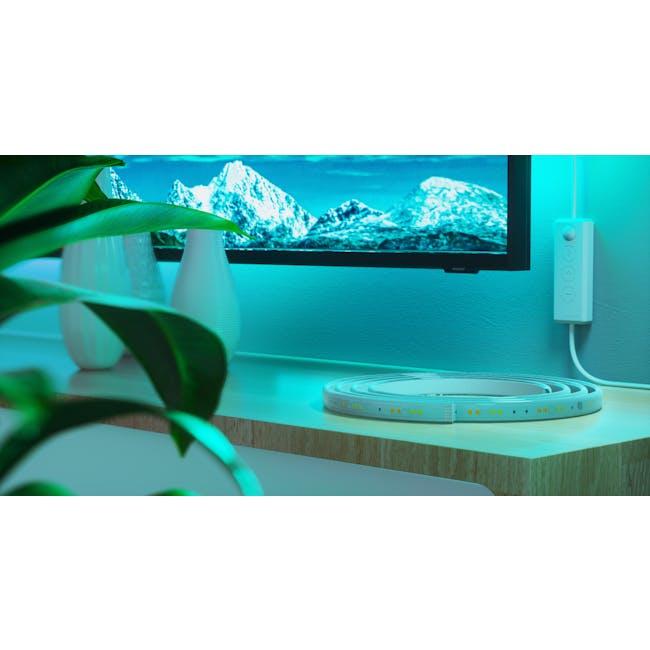 Nanoleaf Essentials Smart LED Colour & White Ambiance Light Strip Starter Kit (2m) -  Thread & Bluetooth-enabled - 6
