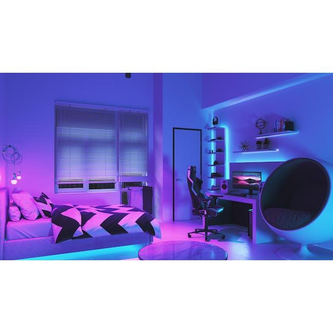 Nanoleaf Essentials Smart LED Colour & White Ambiance Light Strip Starter Kit (2m) -  Thread & Bluetooth-enabled - 3