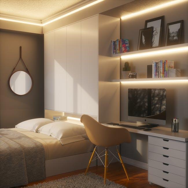 Nanoleaf Essentials Smart LED Colour & White Ambiance Light Strip Starter Kit (2m) -  Thread & Bluetooth-enabled - 4