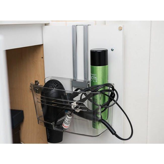 Hide-In-Sink Organiser - Smoke - 2