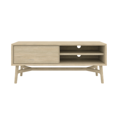 Hendrix TV Console 1.3m with Hendrix Rectangular Coffee Table - Image 2