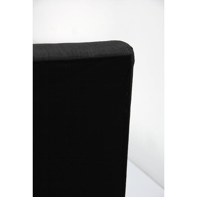 ESSENTIALS Super Single Trundle Bed - Smoke (Fabric) - 10