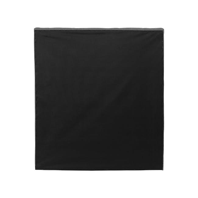 ESSENTIALS Super Single Trundle Bed - Smoke (Fabric) - 6