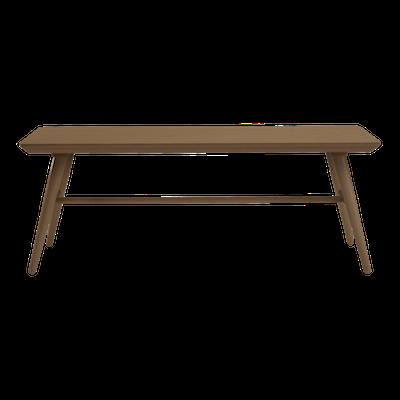 Marrim Bench 1.2m - Walnut - Image 2