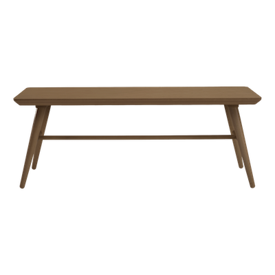 Marrim Bench 1.2m - Walnut - Image 2