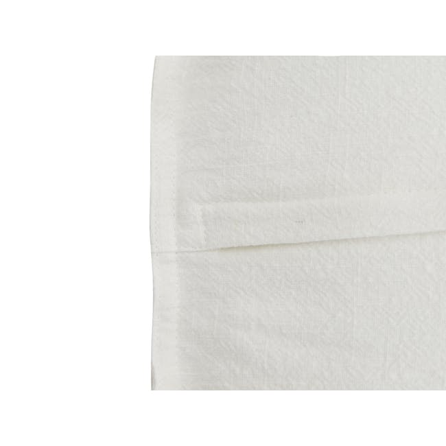 Penny Cushion Cover - White - 1