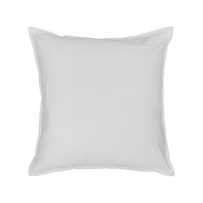 Penny Cushion Cover - White - 0