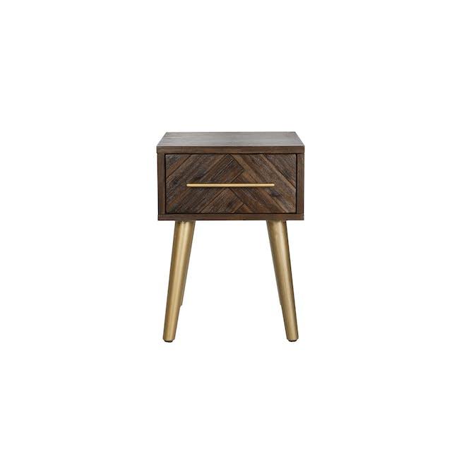 Cadencia Single Drawer Bedside Table - 1