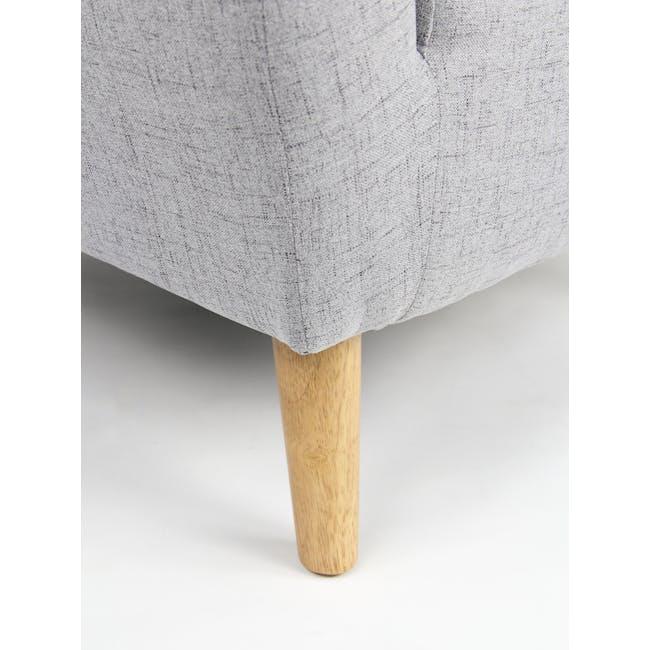 Hana2 Seater Sofa - Light Grey - 7