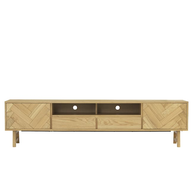 Gianna TV Console 2.2m with Gianna Coffee Table - 3