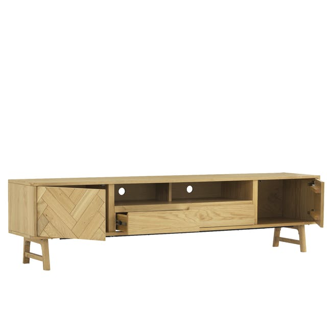 Gianna TV Console 2.2m with Gianna Coffee Table - 4