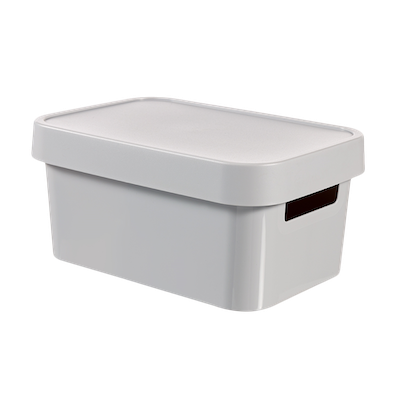 Inifinity Box + Lid - Grey - Image 1