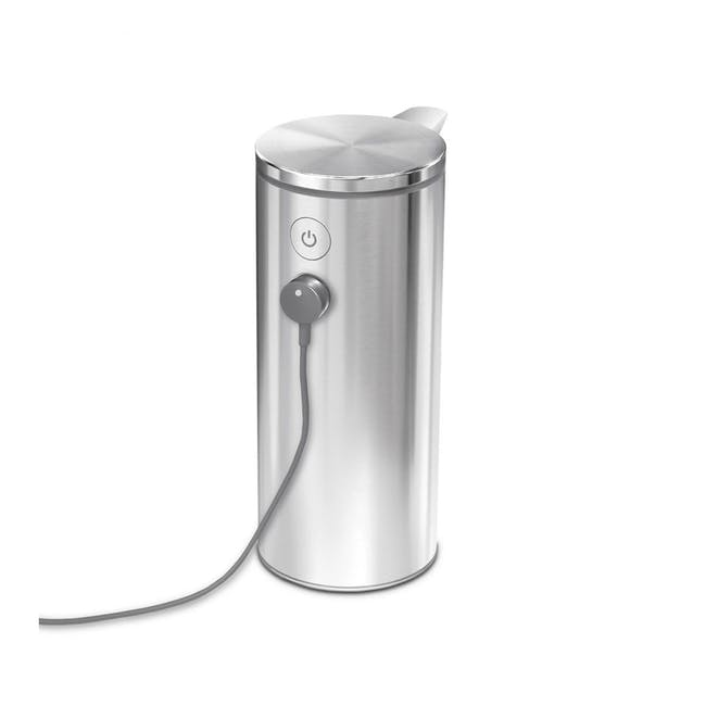 simplehuman Sensor 9oz Soap Pump Rechargeable - Brushed - 1