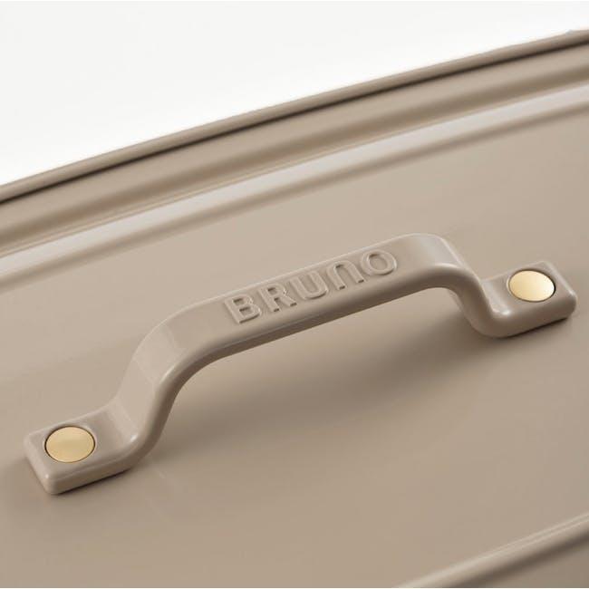 BRUNO Grande Hotplate - Almond Cream - 4