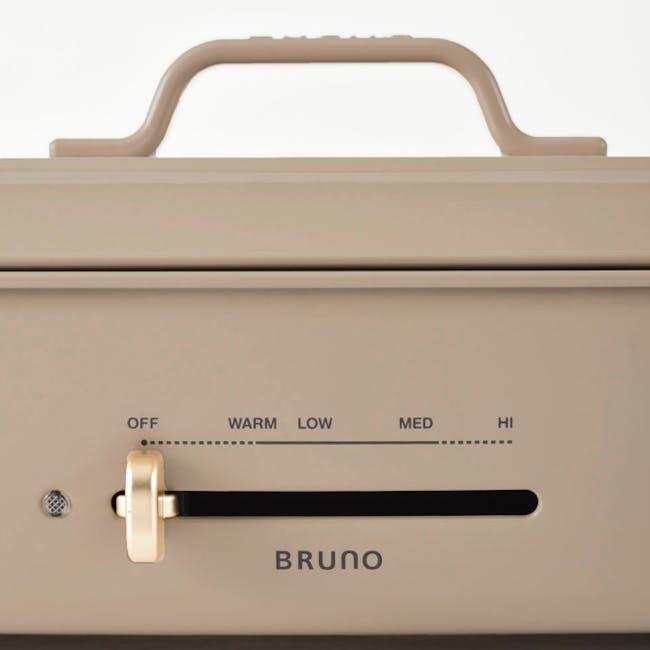 BRUNO Grande Hotplate - Almond Cream - 5