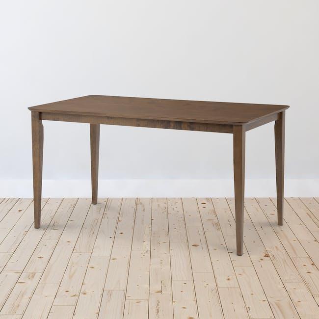 Charmant Dining Table 1.4m - Walnut - 1