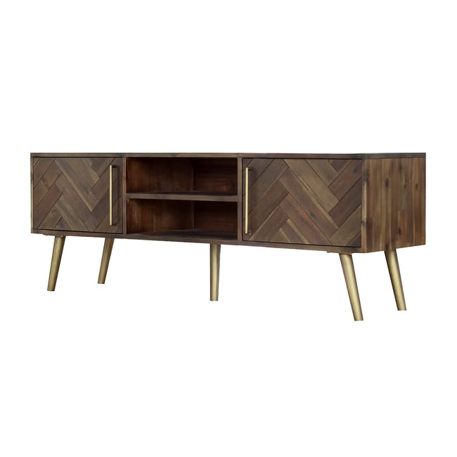 Cadencia TV Console 1.65m with Cadencia Twin Drawer Coffee Table - 4