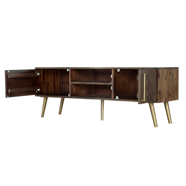 Cadencia TV Console 1.65m with Cadencia Twin Drawer Coffee Table - 5