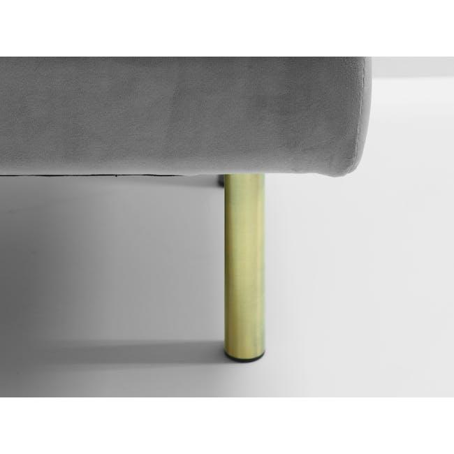 Cadencia 2 Seater Sofa - Anchor Grey (Velvet) - 8