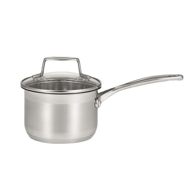 SCANPAN Impact Stainless Steel Sauce Pan with Lid (3 Sizes) - 0