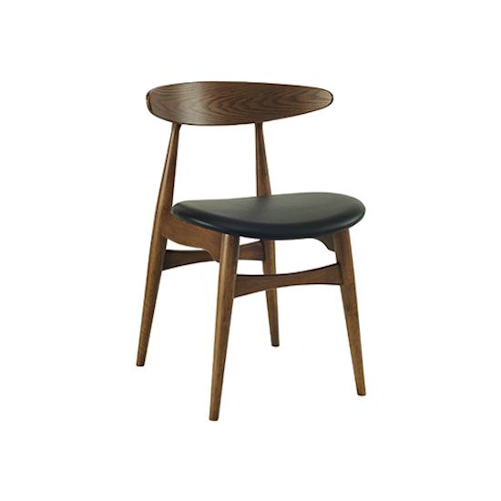 HipVan Bundles - 4 Tricia Dining Chairs in Walnut, Espresso
