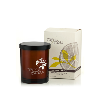 Citrus Soy Wax Candle - Image 2