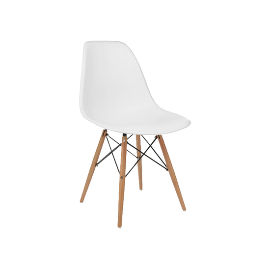 Incroyable DSW Chair   Natural, White