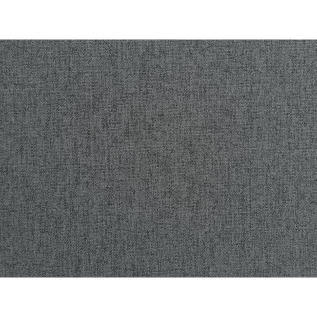 Alicia L-Shaped Sofa - Charcoal Grey - 9
