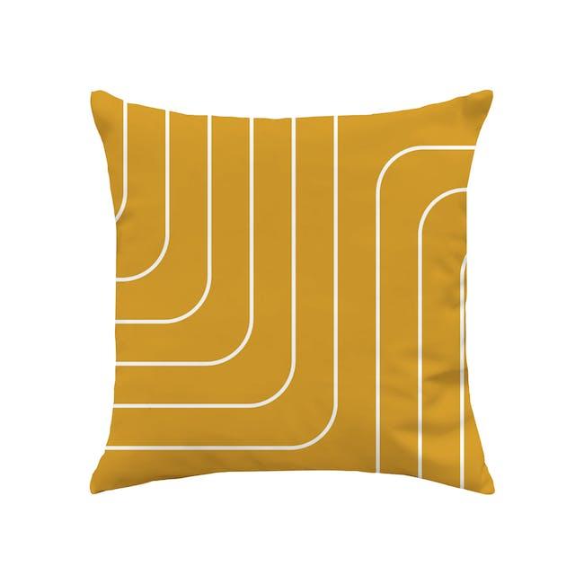 Palette Linen Cushion Cover - Merigold - 0