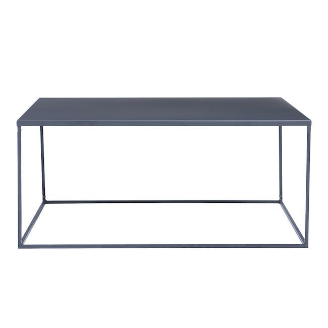 Ashe Square Coffee Table - Iridium - 1